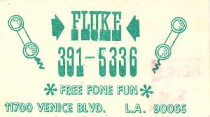 Fluke Business Card
