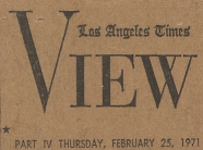 Los Angeles Times, Thursday February 25, 1971